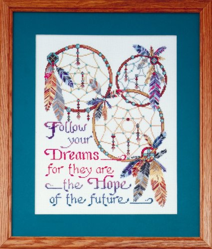 Design Works Counted Cross Stitch kit - Dreamcatcher