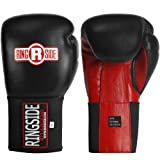 Ringside IMF Tech Sparring Gloves, Black/Red