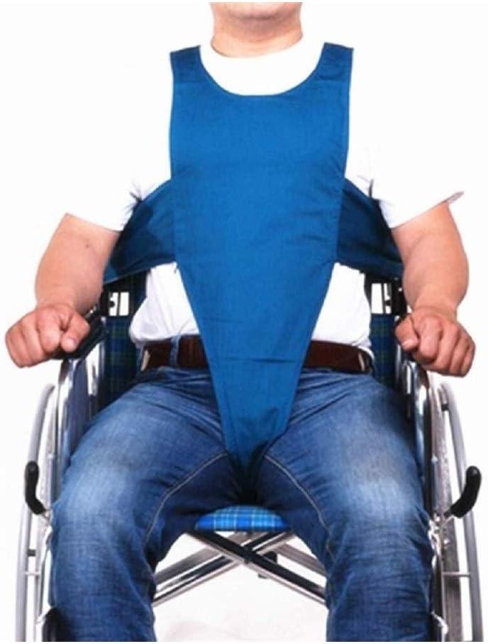 Cinturón de seguridad for silla de ruedas, glúteos Restricción Longitud de la banda Ajustable Respirable antideslizante Cinturón de silla de ruedas Protección contra la prevención de caídas Hemiplejía