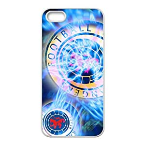 Shiny blue football club Cell Phone Case for iPhone 5S by lolosakes