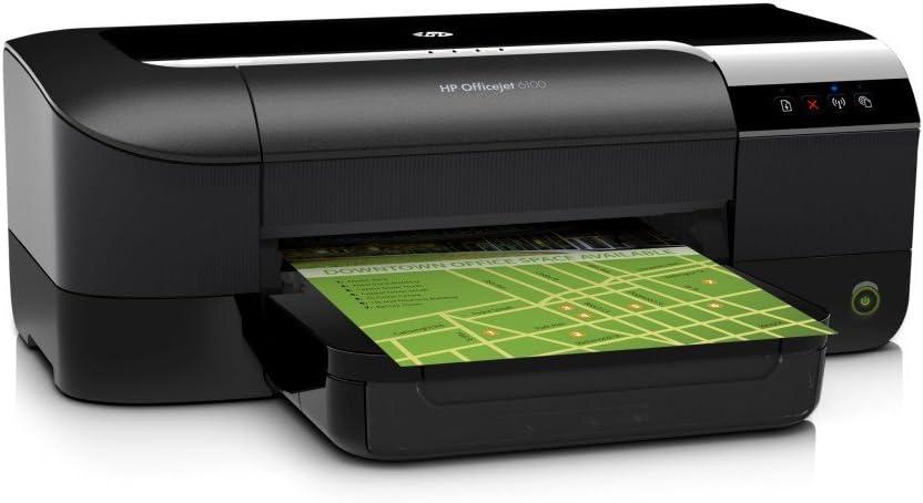 HP Officejet 6100 - Impresora de tinta - B/N 16 PPM, color 9 PPM ...