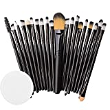 Kasien Makeup Brush, 20PCS Eyeshadow Brushes Set Foundation Cosmetic Eyebrow Eyeshadow Brush Makeup Brush Sets Tool Make-up Toiletry Kit (D)