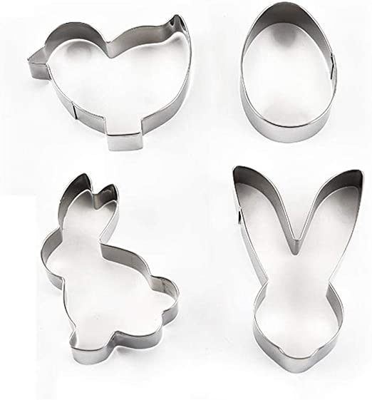 Stainless Steel Cookie Cutter Cake Mold DIY Cake Pastry Tools Rabbit Shape Decor