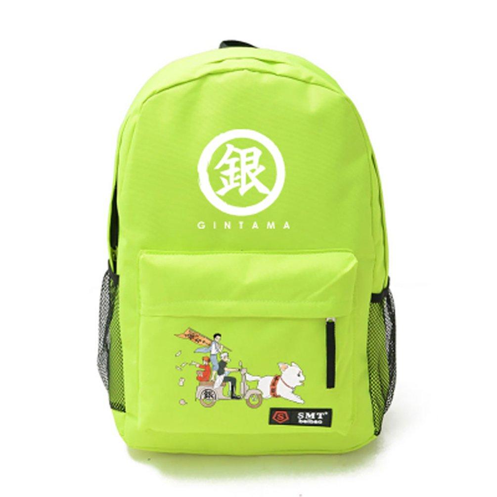 コスプレアニメ銀魂バックパック肩バッグ B00VFCN4KU グリーン