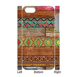Aztec Wood 3D-Printed ZLB517512 Unique Design 3D Phone Case for Iphone 4,4S
