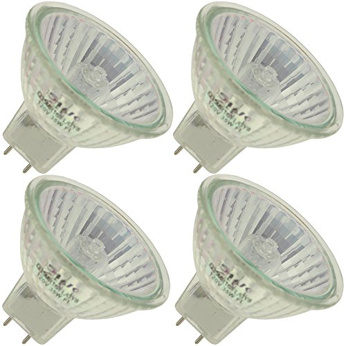 Industrial Performance Q35MR16/FL/GY8 120V, 35 Watt, MR16, Bi-Pin (GY8) Base Light Bulb (4 Bulbs)