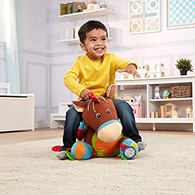 Melissa & Doug Giddy-Up and Play Baby Activity Toy - Multi-Sensory Horse: Melissa & Doug: Toys & Games