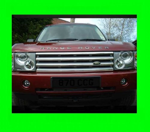 LAND ROVER RANGE ROVER HSE 2003-2010 CHROME GRILLE GRILL