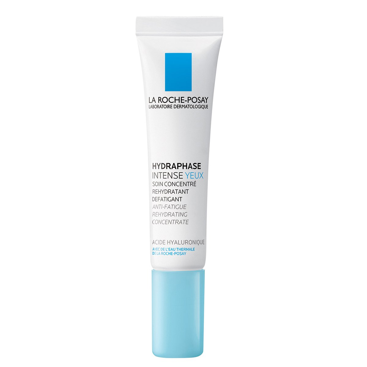 La Roche-Posay Hydraphase Intense Eye Cream with Hyaluronic Acid to Reduce Under-Eye Bags and Puffiness, 0.5 Fl. Oz.