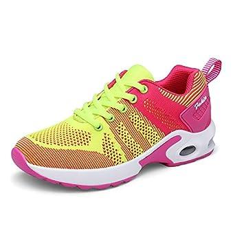 Homebaby - Zapatillas deportivas para mujer y niña, transpirables ...