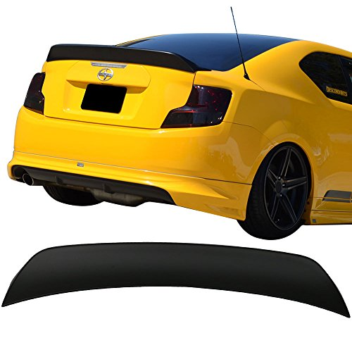 Trunk Spoiler Fits 2011-2016 Scion tC | RS Style Unpainted ABS Boot Lip Deck Lid Rear Spoiler Wing Other Color Available By IKON MOTORSPORTS | 2012 2013 2014 - Spoiler Style Lip Rear