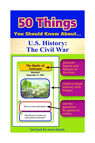 50 Things You Should Know About U.S. History: The Civil War Flash Cards