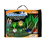 Boredom Busters Glow in the Dark Deluxe Lawn Dart Set