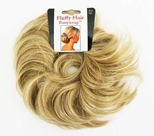 [Mia Fluffy Hair Ponywrap-Ponytailer Made Of Synthetic/Faux Wig Hair-Instant Hair/Instant Volume! Blonde Color-One Size Fits All! (1 piece per] (Halloween Accessories Claires)