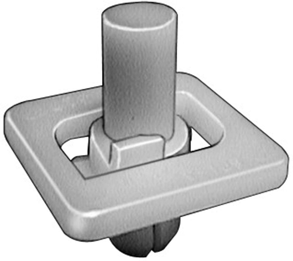 Clipsandfasteners Inc 15 Front /& Rear Door Lower Moulding Clips For GM 10261327