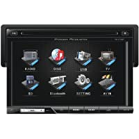 POWER ACOUSTIK PD-710B 7 Single-DIN In-Dash LCD Touchscreen DVD Receiver (With Bluetooth(R))