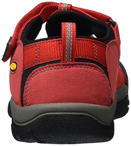 Keen Unisex-Kinder Newport H2 Durchgängies Plateau Sandalen Rot (Ribbon Red/Gargoyle)