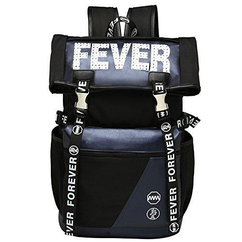 CLCOOL Bergsteigen-TascheWandern PU und Nylon rucksack outdoor Klettern Bergsteigen Reisen Camping wasserdichte Unisex Taschen , dunkelbraun