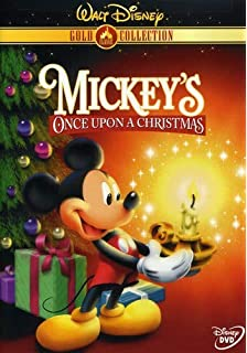 mickeys once upon a christmas disney gold classic collection