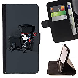 Jordan Colourful Shop - Funny Cool Internet Pirate For LG Nexus 5 D820 D821 - Leather Case Absorci???¡¯???€????€?????????&