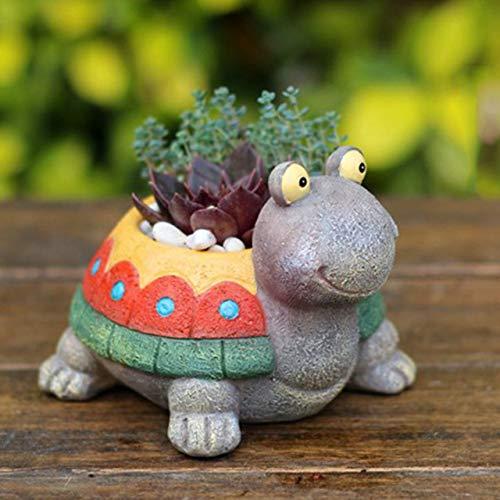 Romerofs Succulent Plant Pots New Design Planter Container for Mini Plant Bonsai Flowers Succulents and Cactus Cute Tortoise