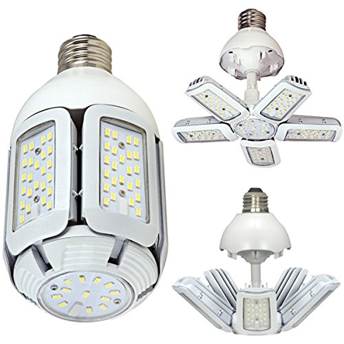 Satco Item S29750 30-Watt LED Retrofit Light Bulb - Replaces HID, CFL and Incandescent Bulbs, 5000K Daylight Color Temperature Medium Base Adjustable Beam Angle 100-277V LED - Replaces Satco S9750