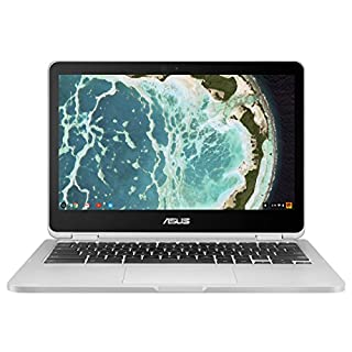ASUS Chromebook Flip C302CA-DH54 12.5-inch Touchscreen Convertible Chromebook Intel Core m5, 4GB RAM, 64GB Flash Storage Chrome OS (Renewed)