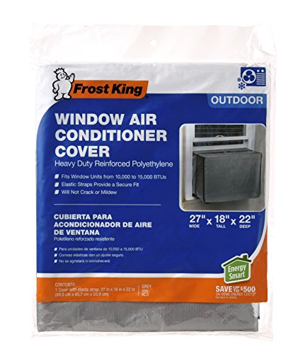 Frost king ac3h outside window air conditioner cover 18 x for 18 inch wide window air conditioner