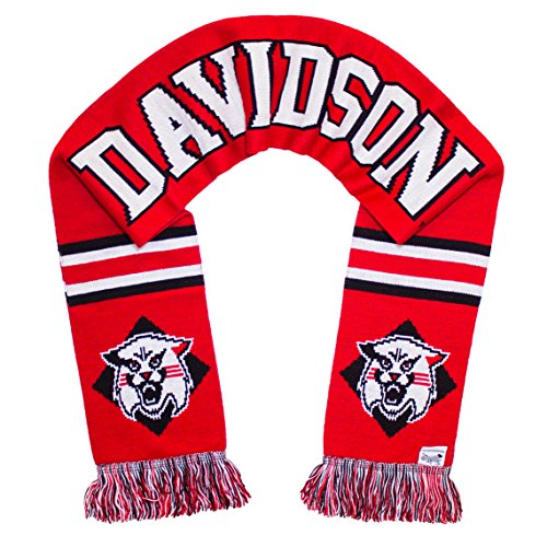 Tradition Scarves Davidson College Scarf - Davidson Wildcats Classic Knitted