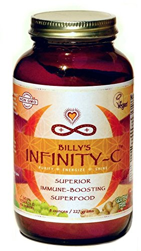 Billy's Infinity-C: 100 Percent Organic and Wild-Harvested Superfoods for Immune System Support. 8oz 32 servings