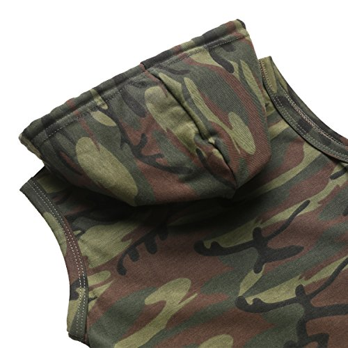Paddy Field Baby Boys' Camouflage Cool Hippy Romper (3-6 Months, Camouflage)