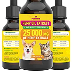 PETITIVE Pet hemp oil extract