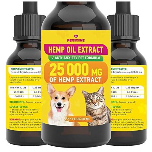PETITIVE Pet hemp oil extract