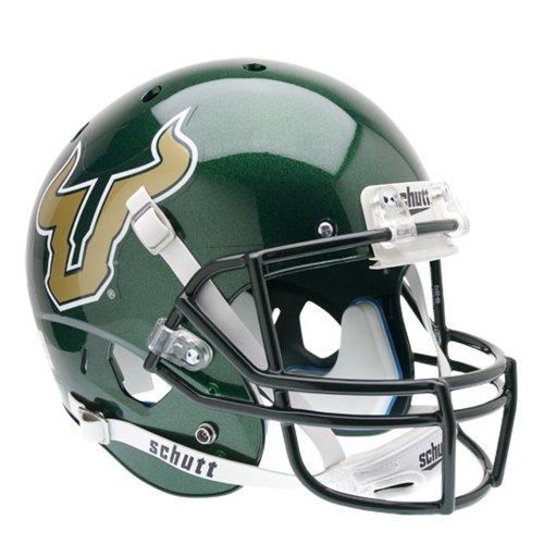 NCAA South Florida Bulls Replica XP Helmet - Alternate 1 (Green) by Schutt