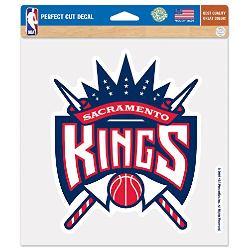 WinCraft NBA Sacramento Kings Patriotic Perfect Cut Color Decal, 8 x 8-Inch by WinCraft
