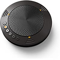 Meeteasy MVOICE 1000-B Wireless Bluetooth Speakerphone for Web-conference and Video conference
