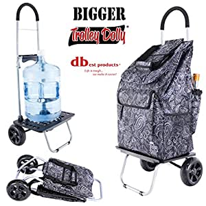 Amazon.com: Dbest products Bigger Trolley Dolly, Blue: Home ...