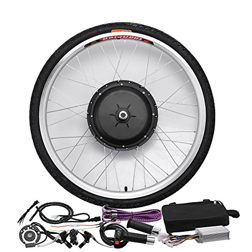 48V/1000W 26'' Front Wheel Bicycle Power-driven Refit Kit by YIXian (Image #1)