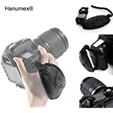 Boosty Hanumex Leather Adjustable Hand Grip Wrist Strap for DSLR Camera (Black)