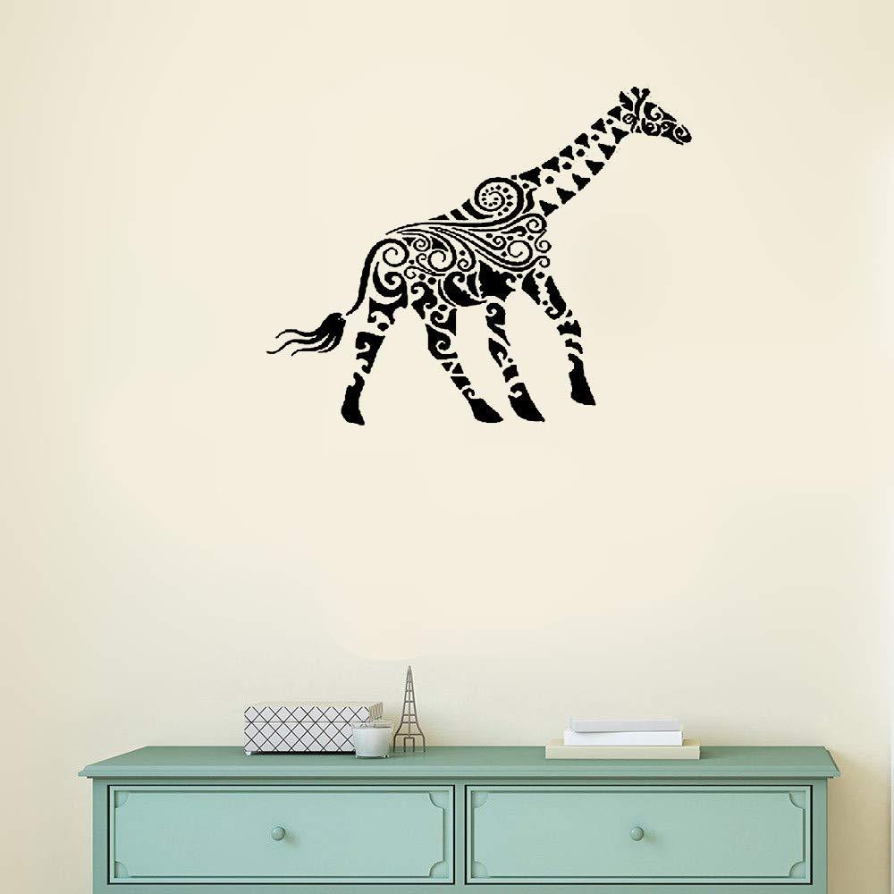 Animal Wall Decal x15 Wall Decor Huge Giraffe Head Animal Vinyl Decal