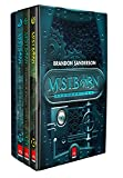 capa de 2ª Era de Mistborn - Caixa com Volumes 1, 2, 3 (+ Caderno)