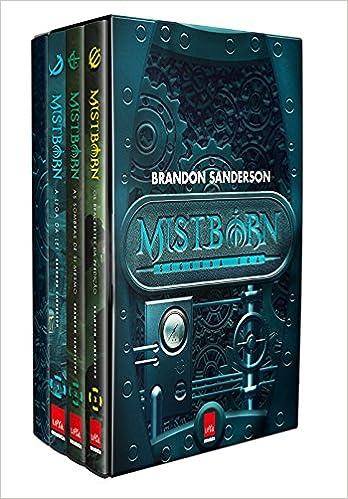 2ª Era de Mistborn - Caixa com Volumes 1, 2, 3 + Caderno: Amazon.es: Brandon Sanderson: Libros