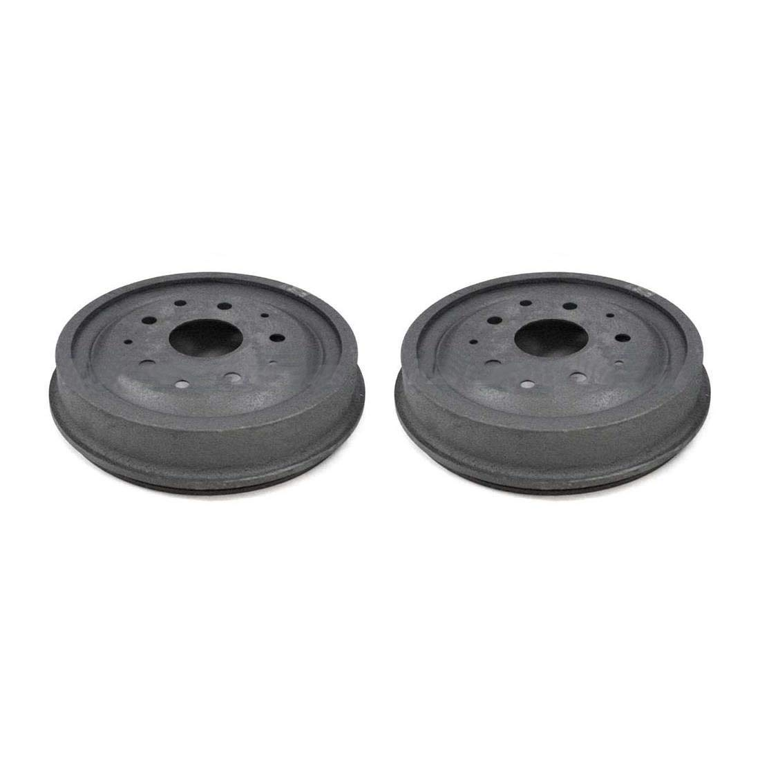 AutoDN Rear Brake Drum 2PCS For 1953-1967 Ford F-100