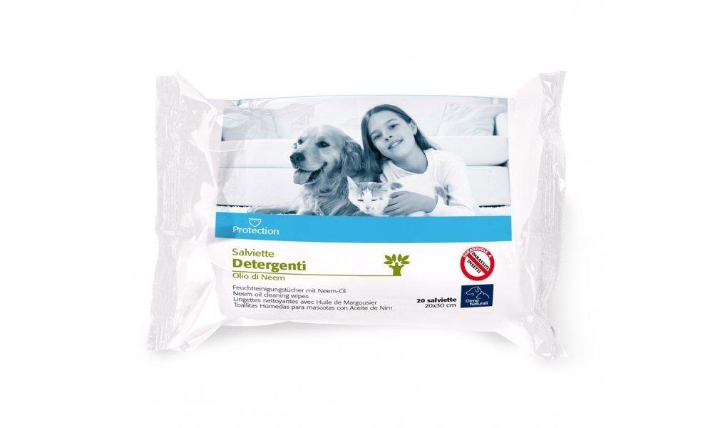 Camon Toallitas Aceite de Neem. Dos paquetes de 20 toallitas cada uno: Amazon.es: Productos para mascotas