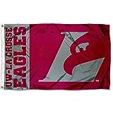 Wisconsin LaCrosse Eagles UWLAX University Large College Flag