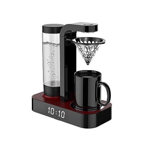 Máquina Completamente Automática Del Café, Con El Reloj Y La Taza Del Termo/La