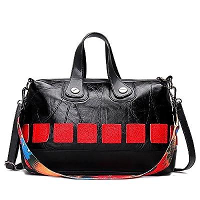 Mefly Chers nouveaux sac sac à main en cuir sac à main Fashion Mesdames,Black