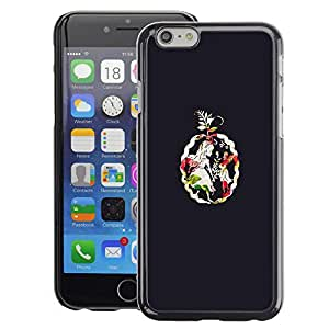 Planetar® ( Amulets Black Girl Art ) Apple iPhone 6 / 6S (4.7 inches!!!) Fundas Cover Cubre Hard Case Cover