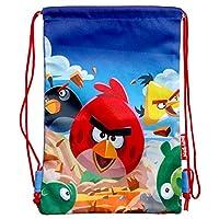 Blue Angry Birds Drawstring Bag - Angry Birds Bag