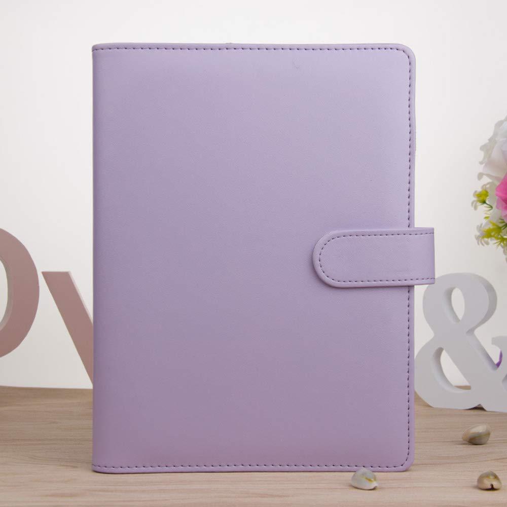 Amazon.com: WEKA A5 Soft Macaron Notebook Loose Leaf Binder ...